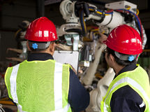 Ingénieur industriel Photo libre de droits