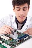 Ingénieur informaticien Photos stock