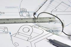 Ingénieur mécanicien 002 Images stock