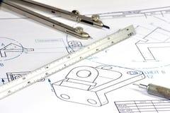 Ingénieur mécanicien 005 Photo libre de droits