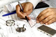 Ingénieur mécanicien Photos stock