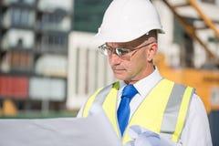 Ingénieur principal Image stock