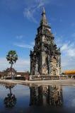 Ing吊Stupa在凯山丰威汉市,老挝。 库存照片