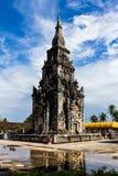 Ing吊Stupa在凯山丰威汉市,老挝。 库存图片
