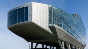 ING议院在Zuidas区,阿姆斯特丹,荷兰 免版税库存图片