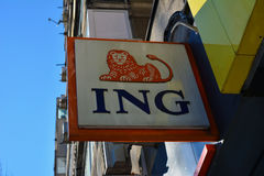 Ing bank Zdjęcia Royalty Free