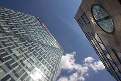 ING Bank Headquarters Royalty Free Stock Photos