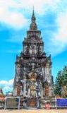 Ing Hang Stupa i Savannakhet, Laos Arkivbilder