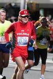 ING New York City Marathon, alte Männer von Polen Lizenzfreie Stockfotografie