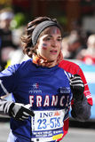 ING New York City Marathon, Runner form France Royalty Free Stock Image