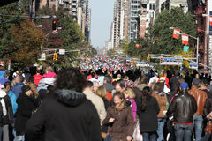 ING New York City Marathon, Runnes lizenzfreies stockfoto