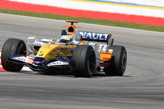 ING Renault F1 Team R27 Gianca Stock Photography