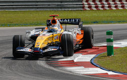ING Renault F1 Team R27 Gianca Royalty Free Stock Image