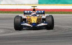 ING Renault F1 Team R27 Heikki Royalty Free Stock Photo
