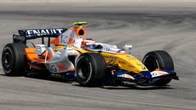 ING Renault F1 Team R27 Heikki Kovalainen Finnish Stock Photos