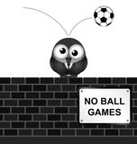 Inga bollspel Arkivfoto