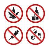 Inga droger Royaltyfri Foto