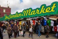 Ingang aan Camden Market Royalty-vrije Stock Fotografie