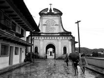 Ingang aan Cementery van Cuetzalan 2 Royalty-vrije Stock Foto
