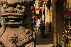 Ingang aan Chinatown Royalty-vrije Stock Fotografie