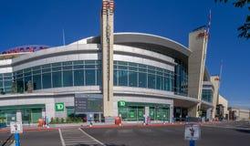 Ingang aan Chinook-Centrumwinkelcomplex Royalty-vrije Stock Foto