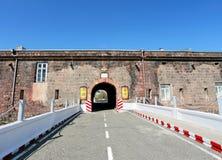 Ingang aan de citadel Royalty-vrije Stock Foto