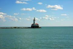Ingang aan de Haven in Chicago Stock Foto's