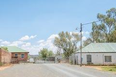 Ingang aan de Jagersfontein-diamantmijn Stock Afbeelding
