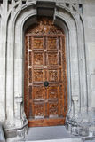 Ingang aan de kathedraal in Constance royalty-vrije stock foto