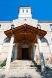 Ingang aan de kerk. Nessebar. Bulgarije. Royalty-vrije Stock Foto's