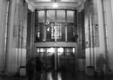 Ingang aan de metro Royalty-vrije Stock Afbeelding