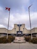 Ingang aan de Militaire Musea, Calgary Royalty-vrije Stock Fotografie