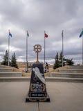 Ingang aan de Militaire Musea, Calgary Stock Afbeelding