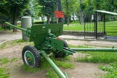 Ingang aan de museum-Bunker Kaliningrad Rusland Royalty-vrije Stock Foto's