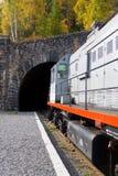 Ingang aan de tunnel Stock Foto
