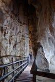 Ingang aan Diamond Cave of Tham Pranangnai in Krabi, Thailand Stock Foto's