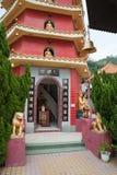 Ingang aan een pagode Stock Foto's