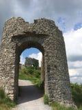Ingang aan een ruïne royalty-vrije stock fotografie