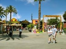 Ingang aan Fairview-Landbouwbedrijven en Live Performance Stages, de Markt van de Provincie van Los Angeles, Californië, de V.S. stock afbeeldingen