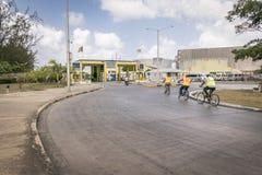 Ingang aan Haven van Bridgetown, Barbados Royalty-vrije Stock Fotografie
