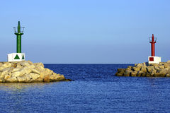 Ingang aan havencala bona Royalty-vrije Stock Foto