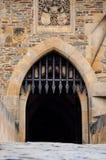 Ingang aan het kasteel Royalty-vrije Stock Foto's