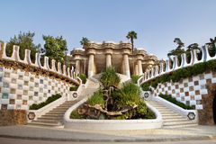 Ingang aan het Museum Gaudi Royalty-vrije Stock Fotografie