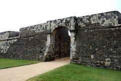 Ingang aan Jaffna-Fort Sri Lanka royalty-vrije stock foto's