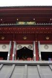 Ingang aan Japanse tempel Stock Afbeelding