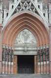 Ingang aan kathedraal van La Plata Royalty-vrije Stock Fotografie