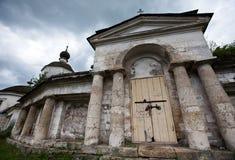 Ingang aan kerk Royalty-vrije Stock Afbeelding