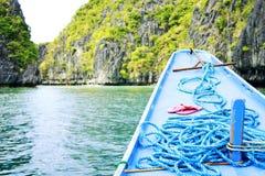 ingang aan lagune Royalty-vrije Stock Foto