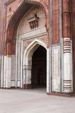 Ingang aan Oude Moskee stock fotografie
