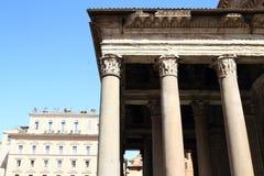 Ingang aan Pantheon Stock Fotografie